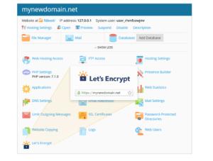 Let's encrypt plesk plugin3