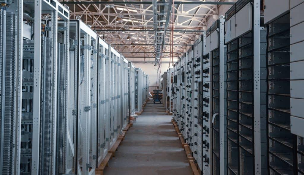 Una server farm - hosting VPS