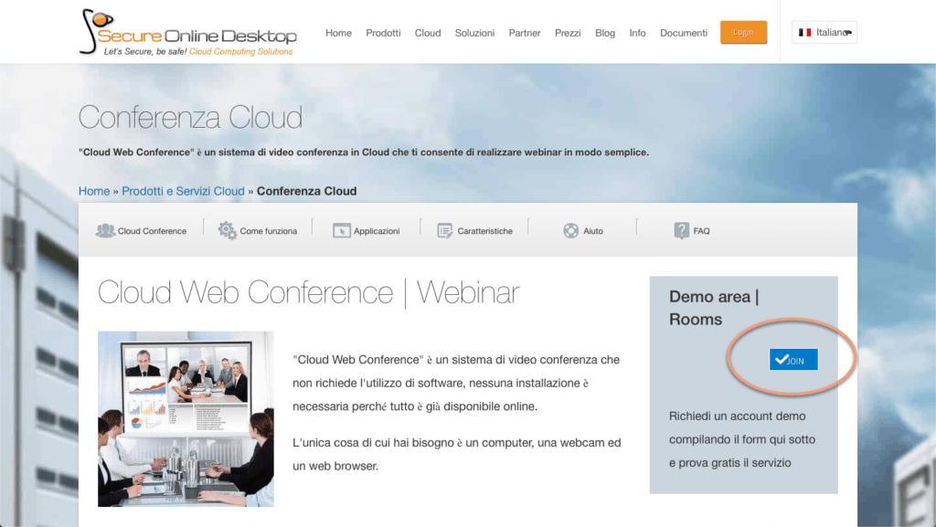 Prova gratuita conferenza cloud