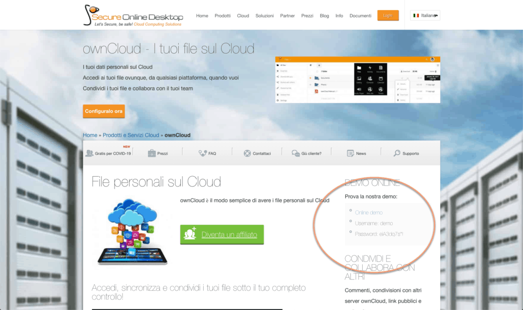 Free owncloud trial