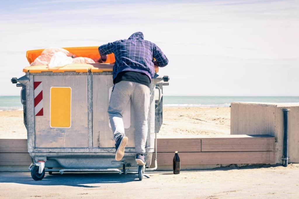 Sicurezza fisica dumpster diving