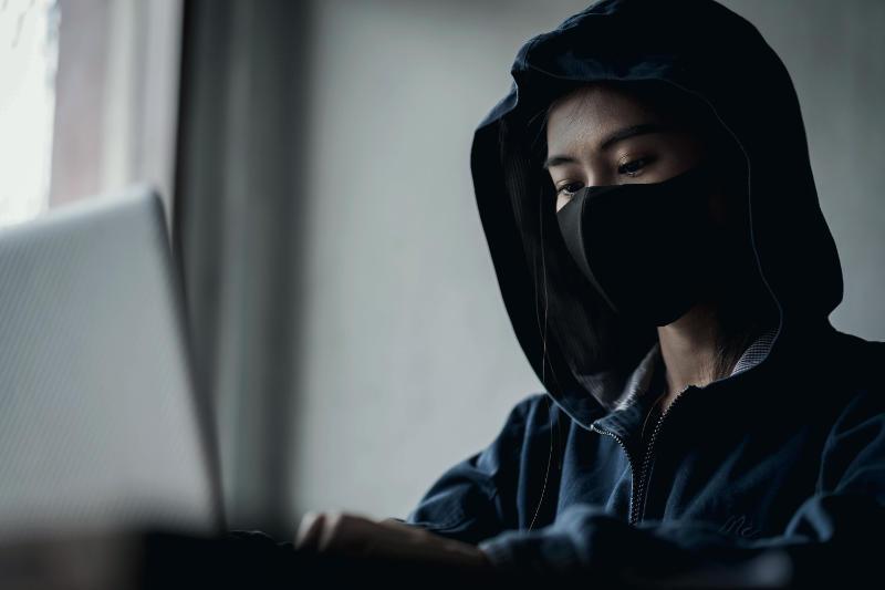 ransomware ddos Hacker