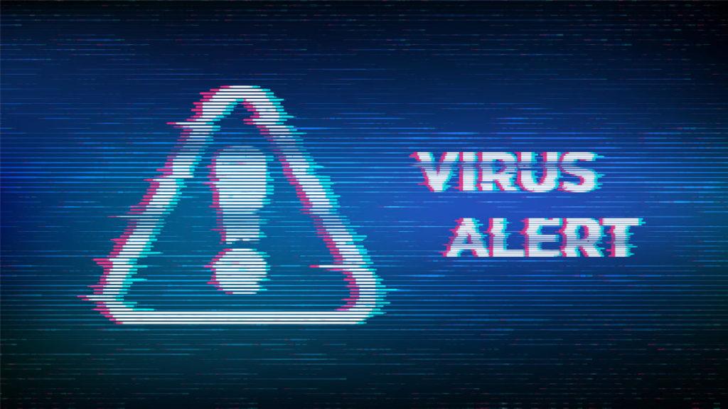 Logic bomb virus