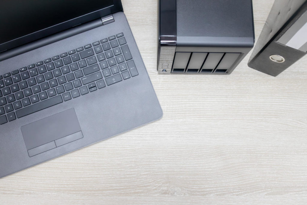 Ransomware e Nas: Laptop e NAS