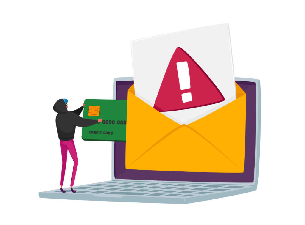 Business email compromise phishing